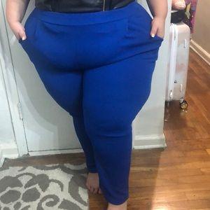 Pants - Cobalt blue trousers